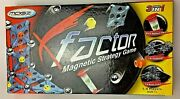 X Factor Magnetic Strategy Game 2d Challenge, 3d Brain Teaser Ages 7+ New
