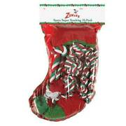 Holiday Super Stocking For Dogs Includes Ten Dog Toys Festive Christmas Packs