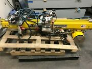 Unified Ind Track Trolley Hoist Lift Det 220 110 126 500lbs Bw020120 100psi Kmgm