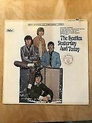 The Beatles Yesterday And Today Gold Award Capital Records
