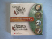 2000 Royal Canadian Mint Box Set 4 Canadaand039s Birds Of Prey 50 Cent Pieces Sealed