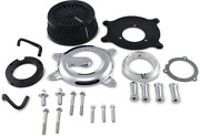 Vance And Hines Chrome Vo2 Rogue Air Cleaner Filter Kit For 17-19 Harley Touring F