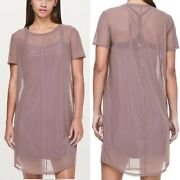 Lululemon Ready To Reach Dress Womenand039s Dress Color Antique New W/tags 98
