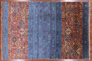 6and039 7 X 9and039 8 Tribal Gabbeh Hand Knotted Area Rug - Q2934