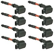 Set Of 8 Ngk Direct Ignition Coils For Mercedes W210 W140 E420 S420 S500 Sl500