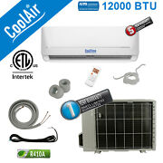 12000 Btu Mini Split Hvac Heating And Cooling System By Cooltime - Wifi And Ductless