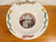 Kellogg's 90 Years 4 Collectible Bowl 1907-1914 Stoneware New With Certificate