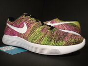 Nike Lunarepic Low Flyknit Oc Unlimited Racer Multi-color White 844862-999 11.5