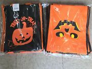 Lot Of 200 Pcs Halloween Trick Or Treat Bags Reusable Shopping Bags Wholesale