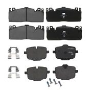 Front And Rear Brake Pad Sets Kit Genuine For Bmw F10 M5 F12 F13 F06 M6 Gran Coupe