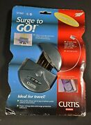 Surge To Go 2 Surge Protected Outlets And 2 Telephone Protection Curtis Esselte