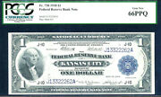 1918 1 Federal Reserve Bank Note-fr 738 Flying Eagle-pcgs 66 Ppq Gem New
