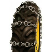 Double Ring Pattern 13.9-36 Tractor Tire Chains - Nw766