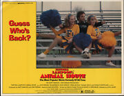 National Lampoonand039s Animal House Orig 1978 Lobby Card Movie Poster John Belushi