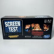 Stranger Things Screen Test Board Game Seasons 1 And 2 Unopened