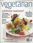Vegetarian Times Magazine Healthy Recipes Bbq Grilling Tips Summer Berries 2009