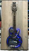 Metal Scrap Guitar Hand Made Style Gibson Les Paul With Tv Led Full Hd