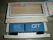 Lionel Ho Stock Car Grand Trunk Western Gtw 58614 In Box
