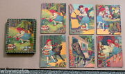 1880s Victorian Lithograph Little Red Riding Hood Math Picture Puzzle Set