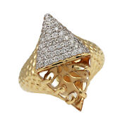 Phillips House Apogee Ring In 14kt Yellow Gold Diamond And Citrine Ring