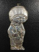 Drummer Boy -gorham Sterling Silver Christmas Ornament Free Shipping A18