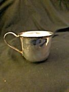 Antique Silverplate Leonard Hong Kong Baby Cup With Lid Excellent Condition