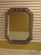 1691 Friedman Brothers 7261 Silver Decorated Beveled Mirror New