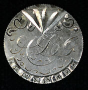 Love Token Engraved Ayg Fancy On 1890 Seated Liberty Dime 10c Silver