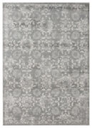 United Weavers Grey Petals Bulbs Faded Contemporary Area Rug Floral 4520 12172