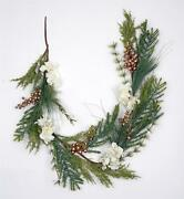 Christmas Tree Natural Garland Golden Berry Xmas Party Wall Home Car Decorations