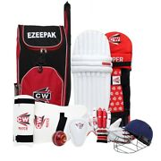 Player Choice Cricket Set Right Or Left Hand Batting Gear For Outdoor Team Sport