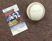 Dave Cash Autographed Signed Babe Ruth Baseball Pittsburgh Pirates Jsa
