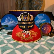 Limited Edition Disney Dream Inaugural Cruise Captain Mickey Ears / Hat 2011