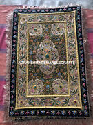 Indian Embroidered Wall Hanging Zardozi Craft Stone Work Bedroom Decor M109