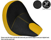 Dsg2 Yellow Grip Vinyl Custom For Indian Scout Sixty 60 16-19 Front Seat Cover