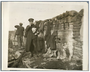 World War I - Wonderful Trenches On The Western Front Vintage . Wwi Tirage Ar