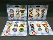 Bn Disney Store Toy Story 1 2 3 4 Pins Complete Set Limited Release Lot Of 24