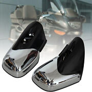 Chrome Motorcycle Rearview Side Mirrors Left And Right For Bmw K1200 Lt 1999-2008