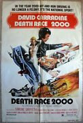 Death Race 2000 One Sheet 1 Movie Poster 27x41 Racing Cars Cinema Film 1975/122
