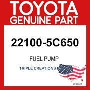 Toyota Genuine 221005c650 Pump Assy, Injection Or Supply 22100-5c650