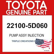Toyota Genuine 221005d060 Pump Assy Injection Or Supply 22100-5d060