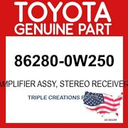 Toyota Genuine 862800w250 Amplifier Assy Stereo Component 86280-0w250