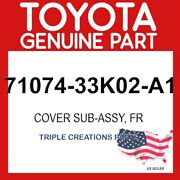 Toyota Genuine 7107433k02a1 Cover Front Seat Back Lhfor Separate Type