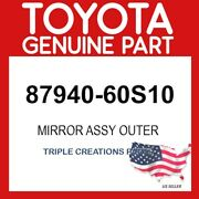 Toyota Genuine 8794060s10 Mirror Assy Outer 87940-60s10