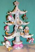 Lenox Tweety Christmas Tree With 10 Ornaments New In Box With Coa Looney Tunes