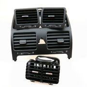 Qty 4 Dashboards Center Air Conditioner Outlet Vent Set For Vw Jetta Golf Rabbit