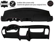 Pink Stitch Top And Lower Dashboard Leather Covers For Mercedes Ml W163 01-05