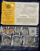 New Zealand 1969 7 Coins In Orig. Packaging