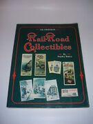Railroad Collectibles 4th Edition By Stanley Baker Soft Cover 1990