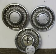 Oem Set Of 3 14 Wire Hub Cap Wheel Cover 473-d 1991-92 Plymouth Voyager W85